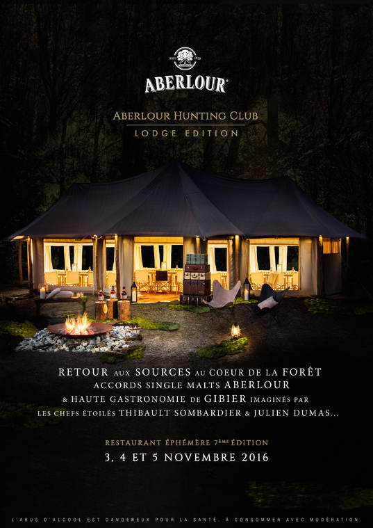 Billetterie : ABERLOUR HUNTING CLUB 2016 Lodge Edition