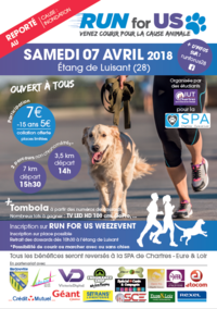Billetterie Run For Us Edition 2018